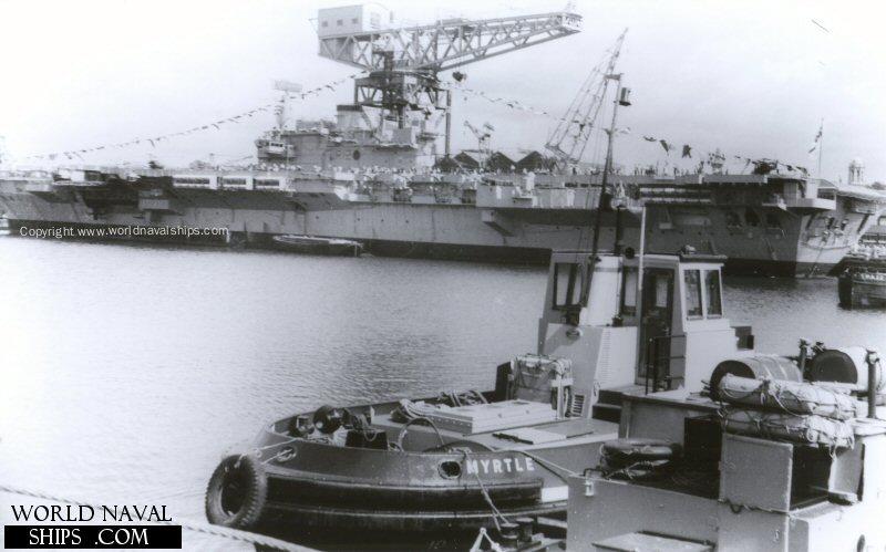 HMS Hermes - World Naval Ships Directory