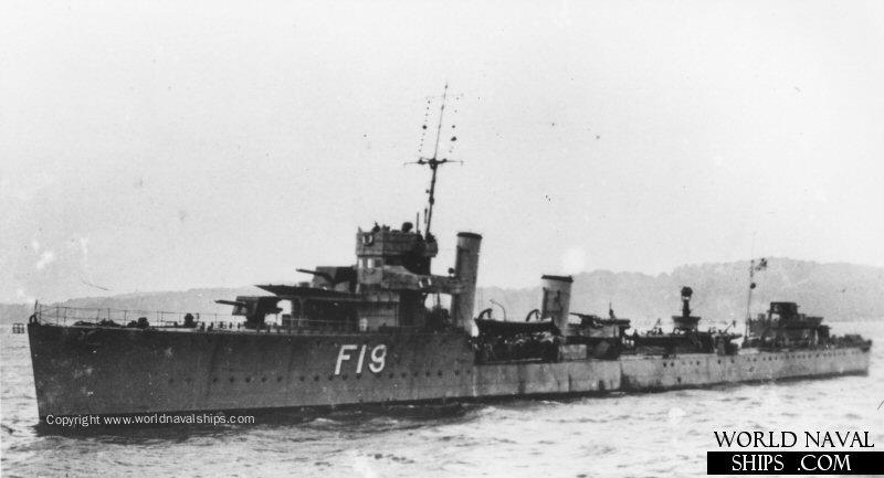 Kuvahaun tulos haulle HMS Verulam 1917