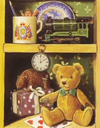 Ted and Train by Raymond Campbell