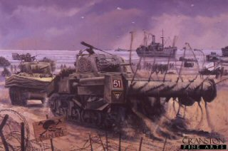 Pack 336  Pack of two British WW2 Tank art prints by David Pentland