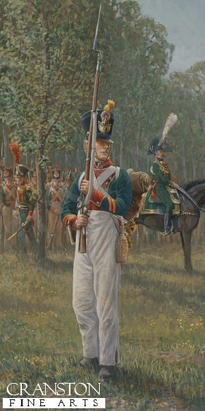 A Voltigeur corporal, 2nd battalion, 4th regiment etranger, Holland 1813.