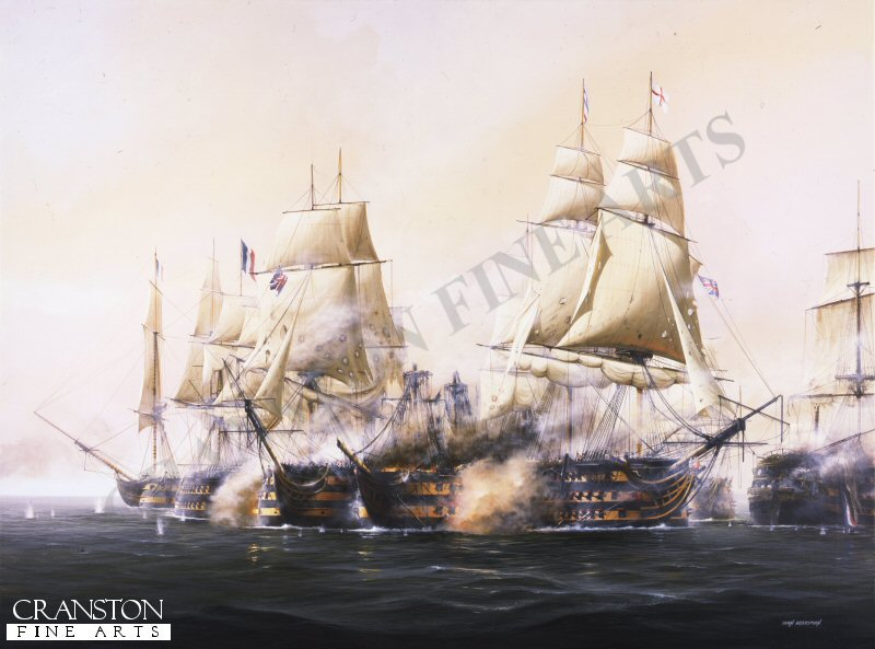 One of the most decisive battles in the history of the Royal Navy, Nelsons defeat of the French fleet took place on 21st October 1805 off Cape Trafalgar and was conducted with not a single British ship lost, although few ships escaped severe punishment and loss of life on both sides was tragically high.
