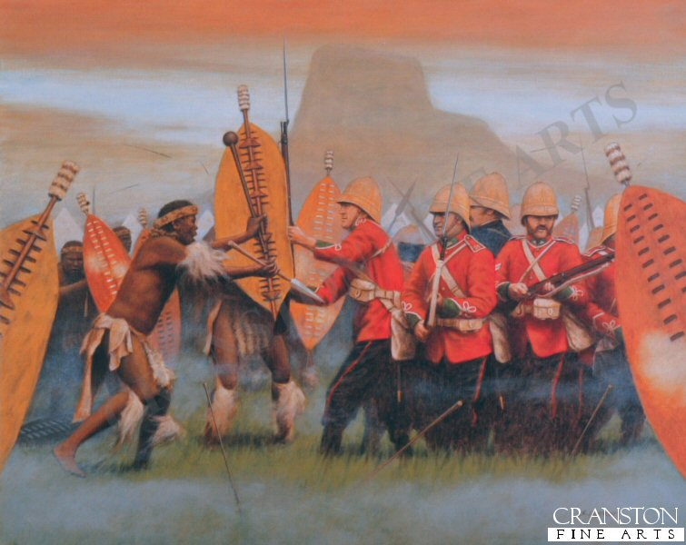 Battle of Isandhlwana.   Zulu victory over the British forces on 22nd January 1879 about 100km north of Durban. Lord Chelmsford led a column of forces to seek out the Zulu army camped at Isandhlwana, while patrols searched the district. After receiving a report, Chelmsford set forth at half strength, leaving six companies of the 24th Regiment, two guns, some Colonial Volunteers and a native contingent (in all about 1,800 troops) at the camp. Later that morning an advanced post warned of an approaching Zulu army. Shortly after this, thousands of Zulus were found hidden in a ravine by a mounted patrol but as the patrol set off to warn the camp, the Zulus followed. At the orders of the Camp Commander, troops spread out around the perimeter of the camp, but the Zulu army broke through their defences. The native contingent who fled during the attack were hunted down and killed. The remaining troops of the 24th Regiment, 534 soldiers and 21 officers, were killed where they fought. The Zulus left no one alive, taking no prisoners and leaving no wounded or missing. About 300 Africans and 50 Europeans escaped the attack. Consequently, the invasion of Zulu country was delayed while reinforcements arrived from Britain.