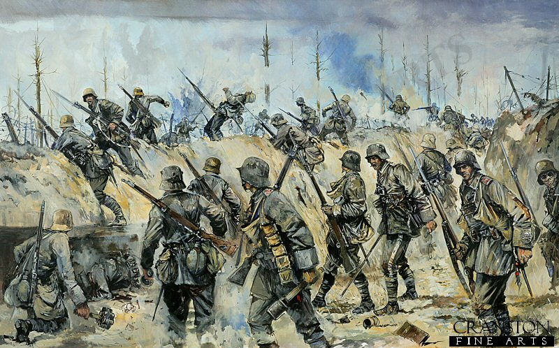 DHM1856P. The Ludendorff Offensive, Spring 1918 by Jason Askew.