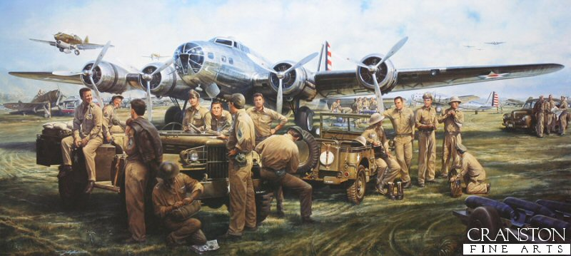 JOHN D SHAW Military Gallery HORNETS NEST etc Aviation Art Sales Brochure