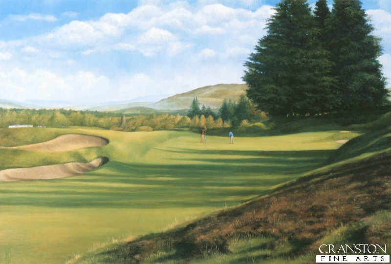 SC42P. Kings Course, Gleneagles by Fraser Shaw (P)