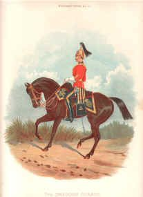 7th Dragoon Guards by Richard Simkin.