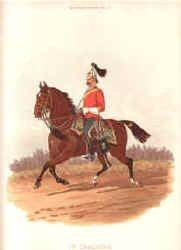 1st Dragoons by Richard Simkin.