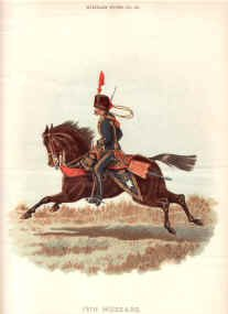 15th Hussars by Richard Simkin.
