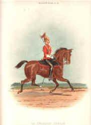1st Dragoon Guards by Richard Simkin.