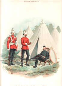 Prince of Wales Own West Yorkshire Regiment (14th foot) by Richard Simkin.