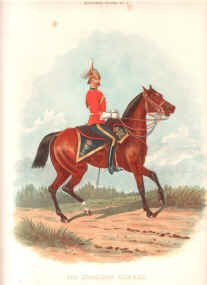 4th Dragoon Guards by Richard Simkin.