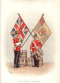 Border Regiment by Richard Simkin. (P)