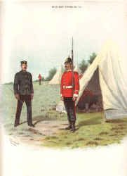 South Staffordshire Regiment (38th and 80th foot) by Richard Simkin.