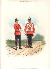 Dorsetshire Regiment by Richard Simkin.