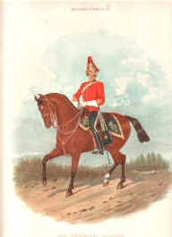 5th Dragoon Guards by Richard Simkin.