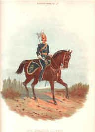 6th Dragoon Guards by Richard Simkin.