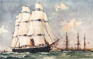 Britains First Two Ironclads by Charles Dixon.