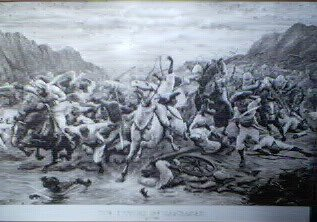 The Victory of Candahar, September 1st 1880, General Robert's Revenge of Maiwand by Stanley Berkeley.