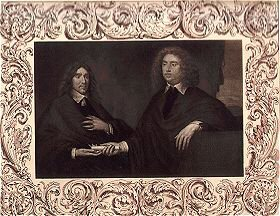 The Earl of Lauderdale (right) and the Earl of Lanark (afterwards 2nd Duke of Hamilton).