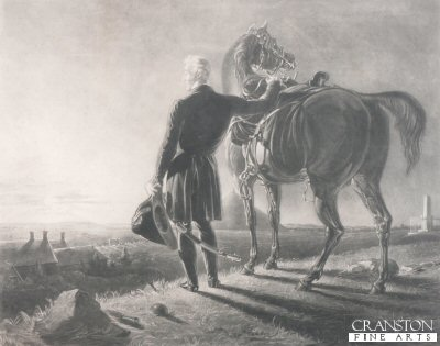 The Hero and His Horse on the Field of Waterloo by R B Haydon.