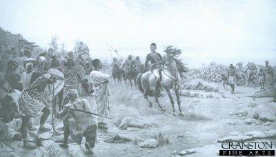 General Gordon Quelling a Riot at Darfur by Stanley Berkeley.