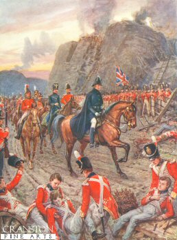 The Duke of Wellington at the Siege of Badajos by Howard Davie (P)