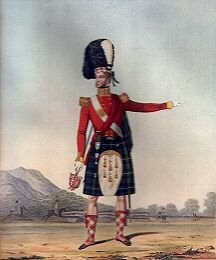 Officer of the 92nd (Highland) Regiment of Foot by L Mansion & Eschauzier (P)
