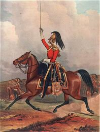 6th Dragoon Guards Officer (Carabiniers) by J Harris after H Daubrawa 1844