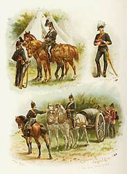 Commissariat and Transport Corp by Harry Payne.