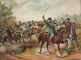US Army Horse Artillery 1865 by Werner (P)