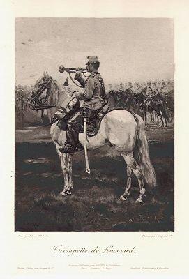 Trompette de hussards by Edouard Detaille (P)