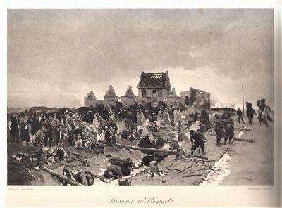 Bivouac au Bourget by Alphonse de Neuville (P)
