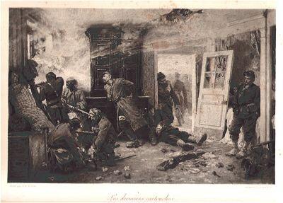 Les dernieres cartouches (Balan pres Sedan - 1er 7bre 1870) by Alphonse de Neuville (P)