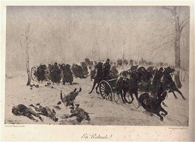 En Retraite by Edouard Detaille (P)