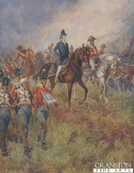 Waterloo, June 18th 1815: The Whole Line Will Advance by B Granville Baker