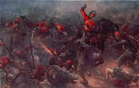 The Charge of Drury Lowes Cavalry at Kassassin, August 28th 1882 by Christopher Clark.