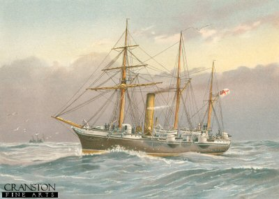 HMS Nymphe by W Fred Mitchell (P)
