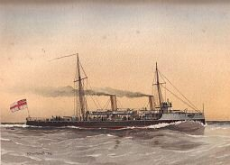 HMS Speedwell by W Fred Mitchell (P)