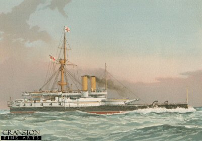 HMS Victoria by W Fred Mitchell (P)