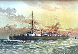 HMS Undaunted by W Fred Mitchell (P)