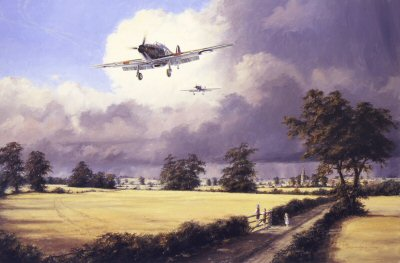 Salute the Few by Anthony Saunders. (APB)