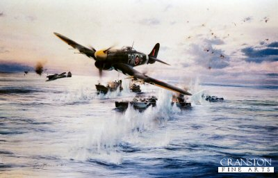 Typhoon Attack by Robert Taylor.
