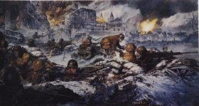 The 28th Division in the Defence of Holingen, Luxemburg by James Dietz.