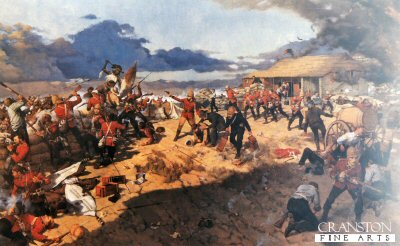 Rorkes Drift by Keith Rocco.