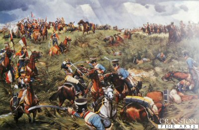 Victory in the Balance, Waterloo, June 18th 1815 by Keith Rocco.