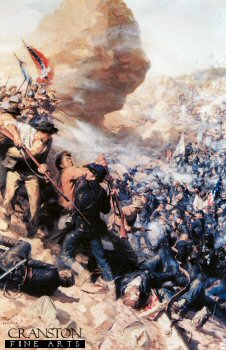 Battle of The Crater by Tom Lovell.