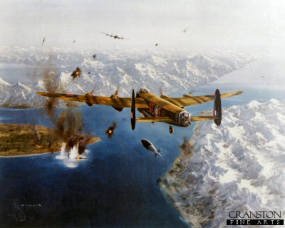 The Sinking of The Tirpitz by Gerald Coulson.