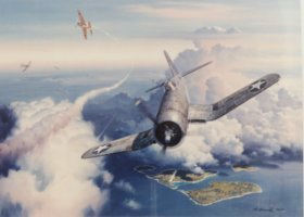 Zero Fighter Sweep by Roy Grinnell.