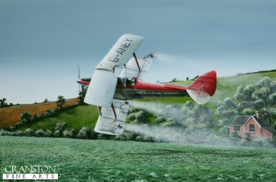 Crop Culture - Tiger Moth by Ivan Berryman. (P)